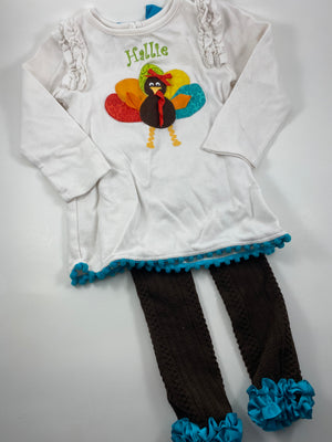 Girl's Long Sleeve Outfit - Size 3t