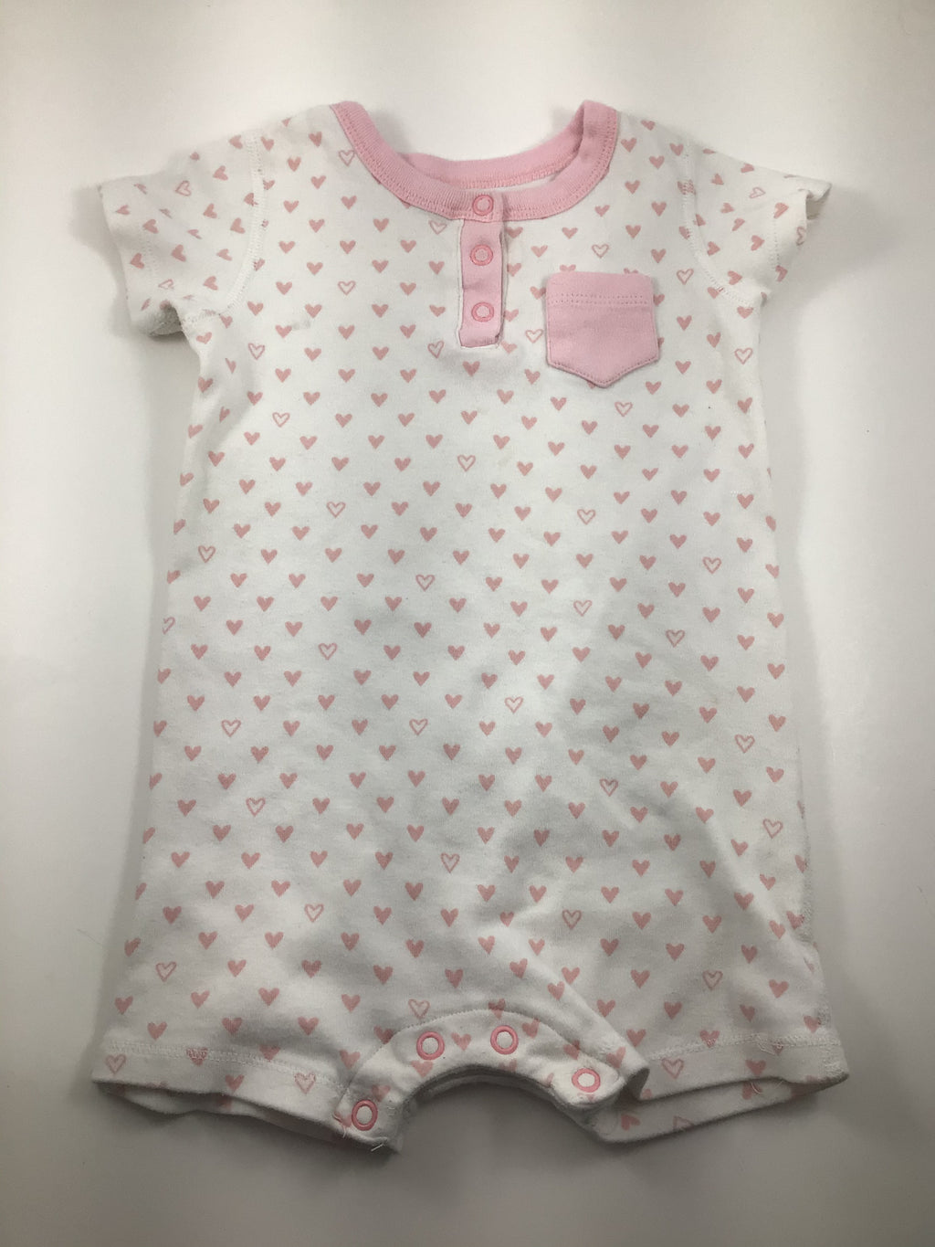 Girl's Short Sleeve Bodysuit - Size 18-24mo