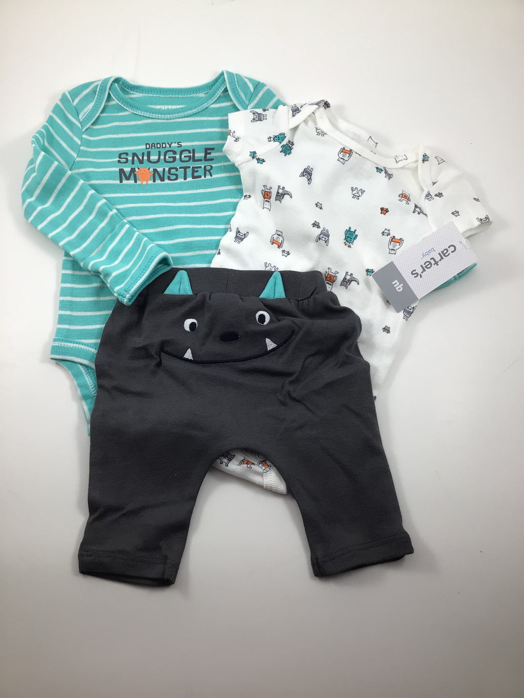 Boy's Long Sleeve Outfit - Size Newborn