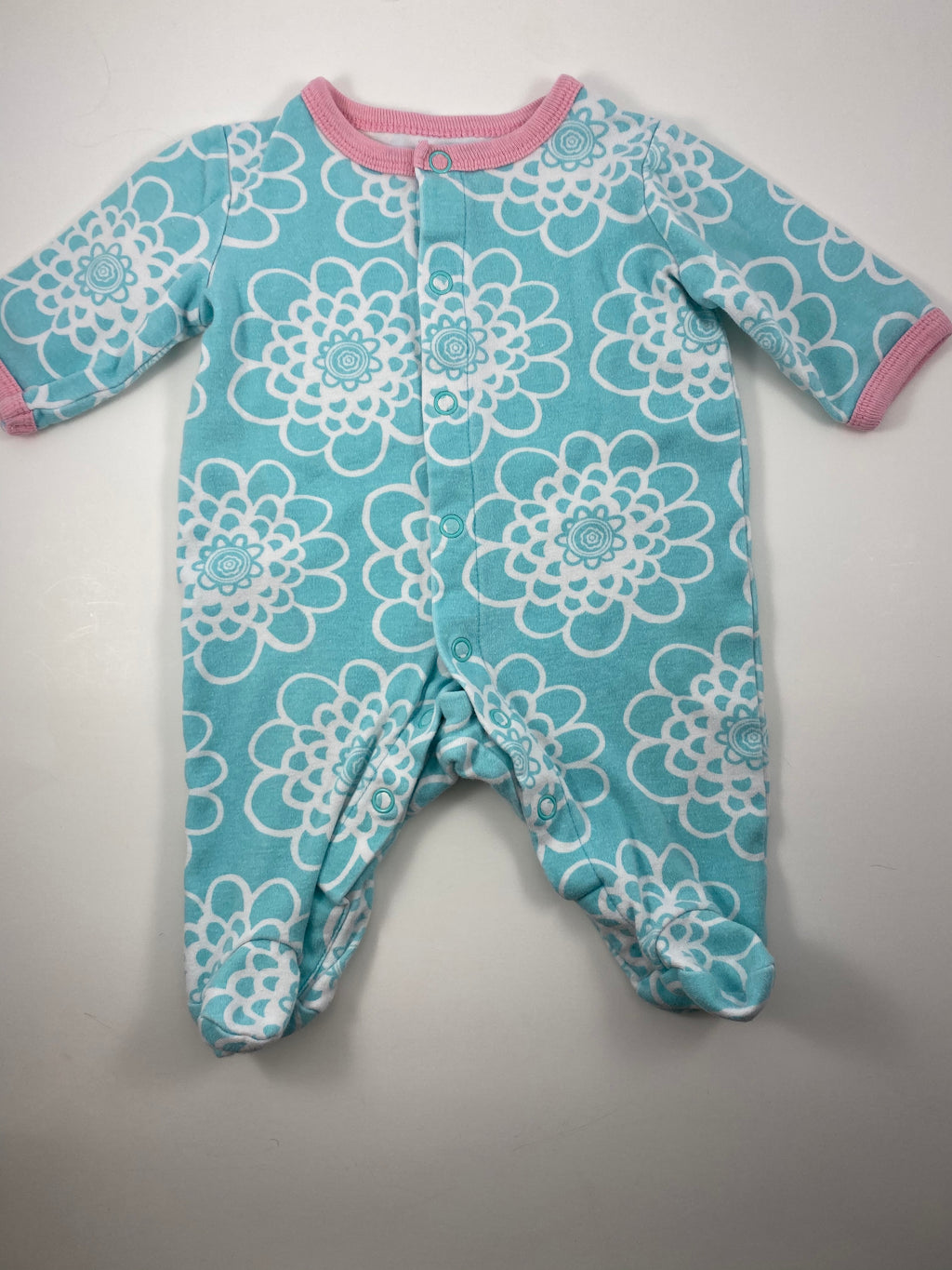 Girl's Long Sleeve Outfit - Size Newborn