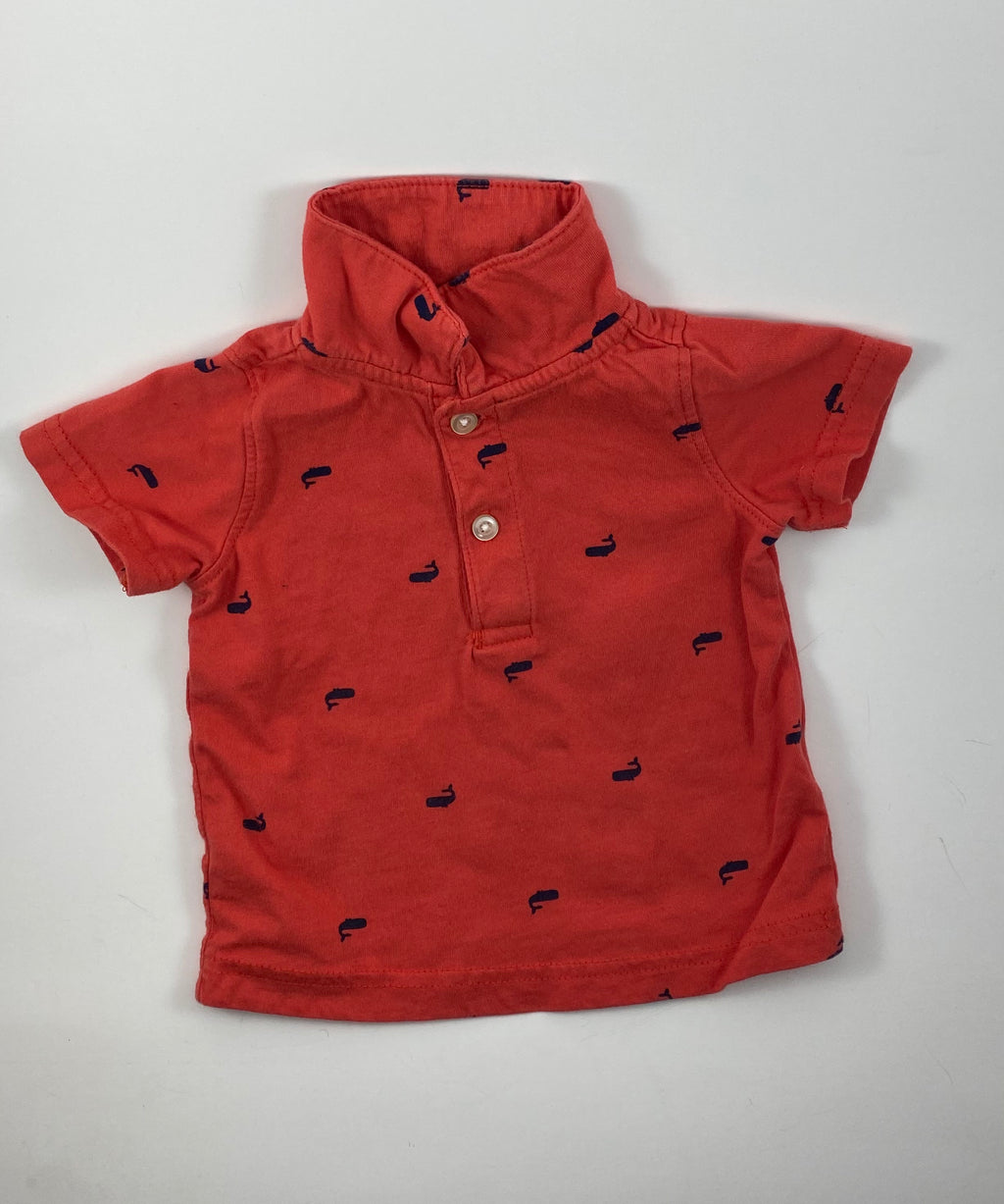 Boy's Short Sleeve Shirt - Size 3-6mo