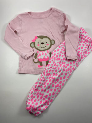 Girl's Long Sleeve Pajamas - Size 2t