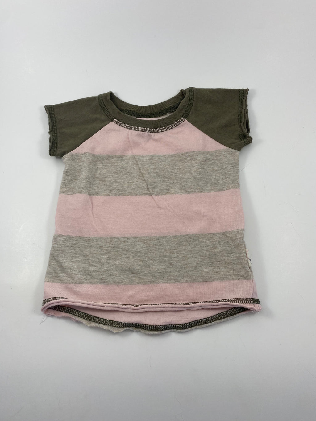 Girl's Short Sleeve Shirt - Size 12-18mo