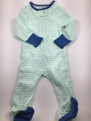 Boy's Long Sleeve Pajamas - Size 6-12mo