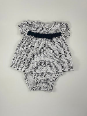 Girl's Short Sleeve Bodysuit - Size 0-3mo