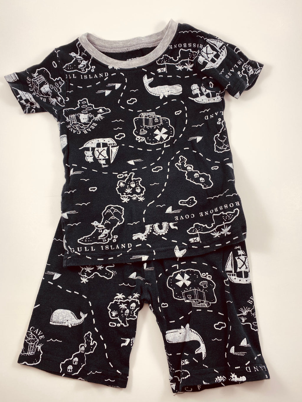 Boy's Short Sleeve Pajamas - Size 3t