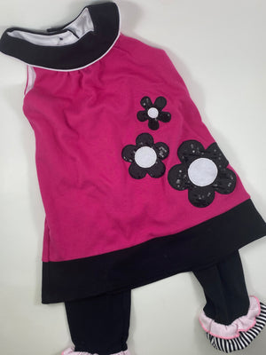 Girl's Short Sleeve Outfit - Size 2t