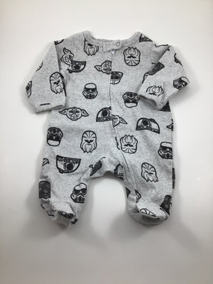 Boy's Long Sleeve Pajamas - Size Newborn