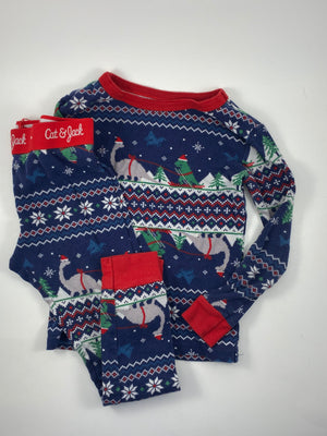 Boy's Long Sleeve Pajamas - Size 4/5