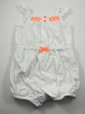 Girl's Short Sleeve Outfit - Size 12-18mo
