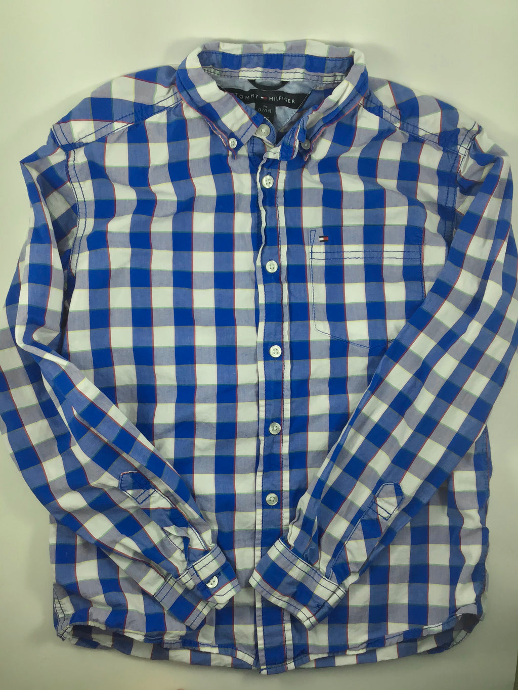 Boy's Long Sleeve Shirt - Size 10/12