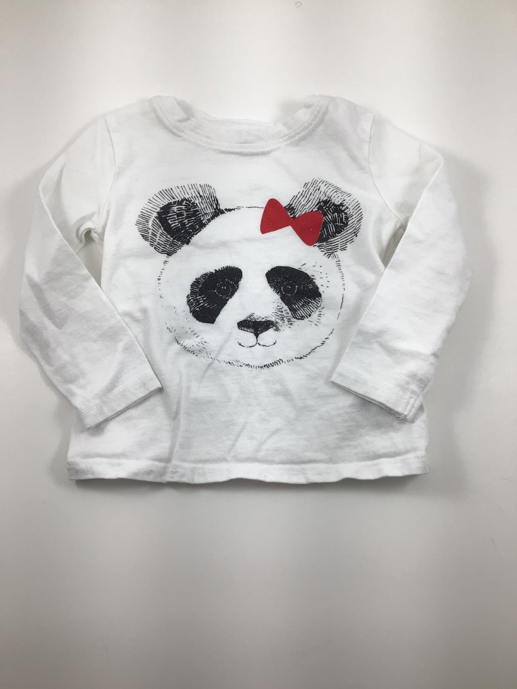 Girl's Long Sleeve Shirt - Size 12-18mo