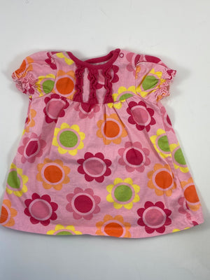 Girl's Short Sleeve Dress - Size 6-12mo