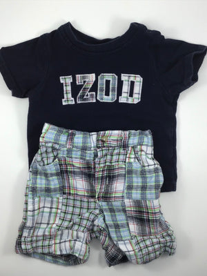 Boy's Short Sleeve Shirt - Size 6-12mo