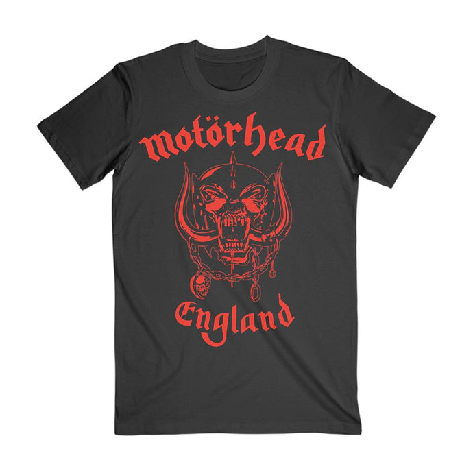 Red England Tee
