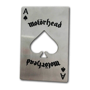 Ace Of Spades Card Bottle Opener