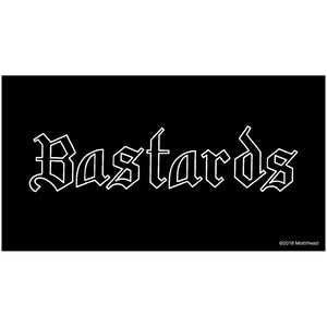 Bastards Fabric Patch