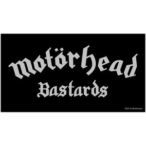 Motorhead Logo & Bastards Patch