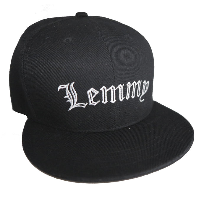 Lemmy Embroidered Cap