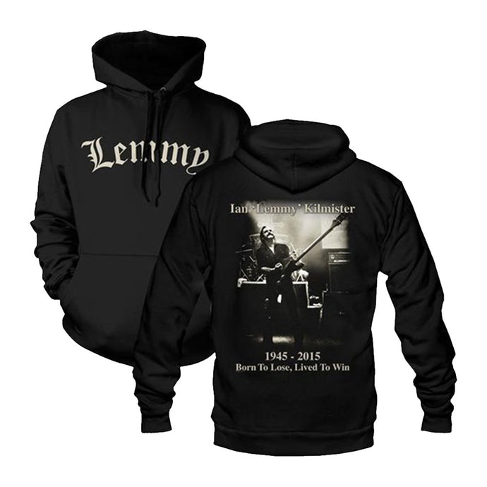 Lemmy Lived to Win Hoodie