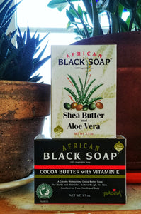 African Black Soap (Madina)