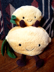 Lemon plush toys (Jellycat)