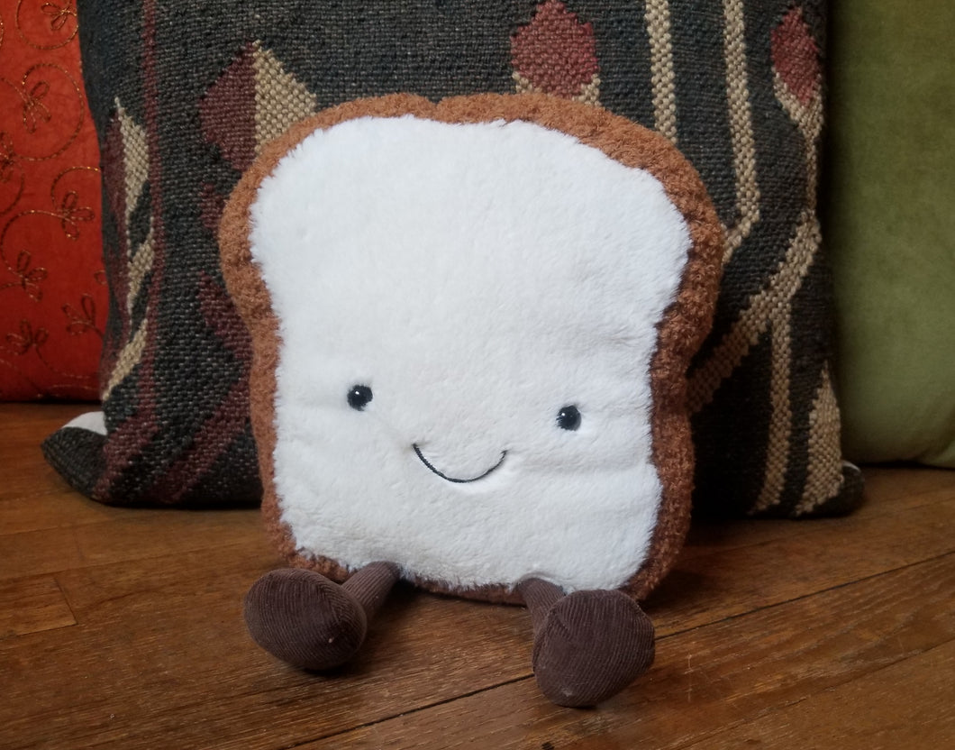 Piece of toast plush toy (Jellycat)