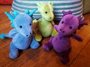 Little Puff plush dragon toys (Jellycat)