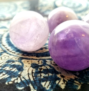 Amethyst sphere (small)
