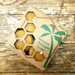 Beeswax tealight candles (Aloha Bay)