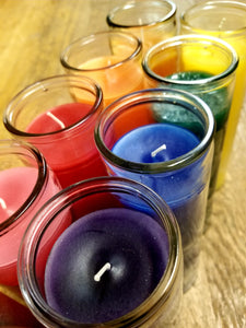 Altar candles (various colors)