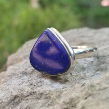 Load image into Gallery viewer, Lapis lazuli ring (size 11)