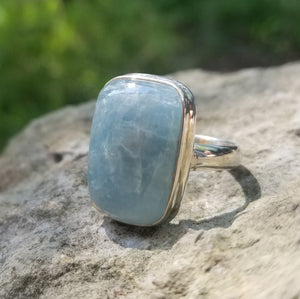 Aquamarine ring (size 8.5)