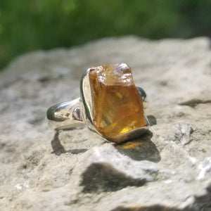 Citrine ring (size 7)