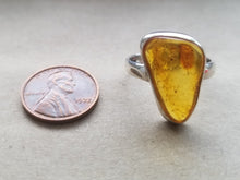 Load image into Gallery viewer, Amber ring (size 9.5)