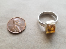 Load image into Gallery viewer, Citrine ring (size 7)