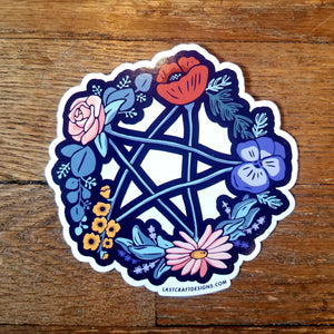 Witchy vinyl stickers (Last Craft Designs)