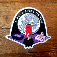 Load image into Gallery viewer, Witchy vinyl stickers (Last Craft Designs)