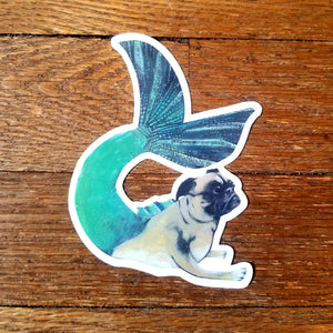 Vintage animal collage stickers (Pergamo Paper Goods)