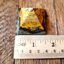 "Load image into Gallery viewer, Bumblebee jasper pyramid (1.5"")"