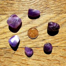 Load image into Gallery viewer, Amethyst (tumbled)