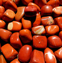 Load image into Gallery viewer, Red jasper (tumbled)