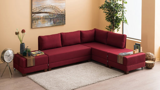 Coltar Dreapta Fly, Rosu bordo - Adorehome.ro - COLTAR - Balcab Home - 825BLC1007