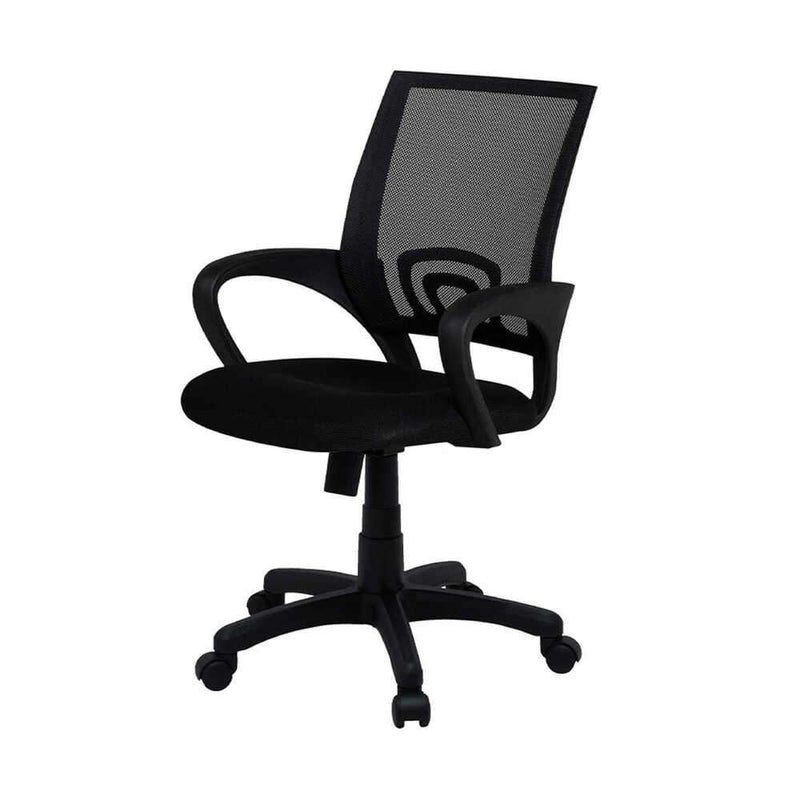 Scaun Smart Office ENJOY, Mesh Negru - Adorehome.ro - Scaun de Birou - Smart Office - SB115NFS