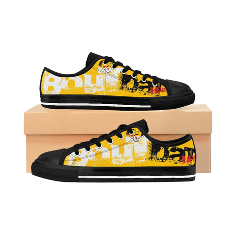 Bout Dat Life Rasta Gear Club Yellow Rasta Signature Men's Sneakers