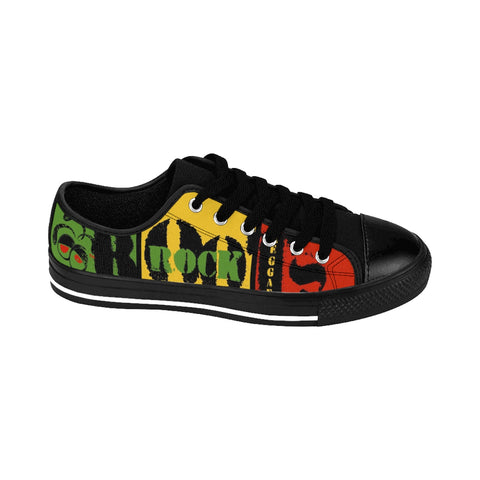 Roots Rock Reggae Rasta Sneakers For Him