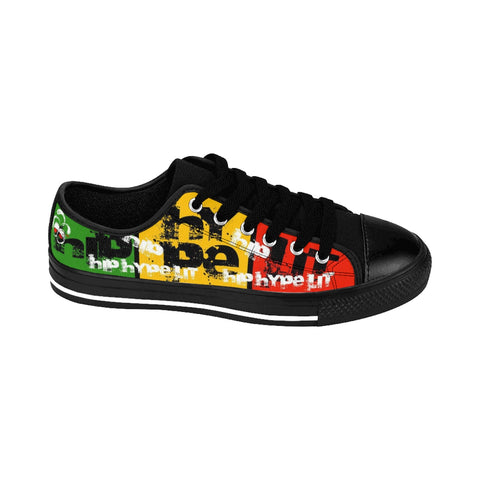 Hip Hype Lit Rasta Sneakers For Him