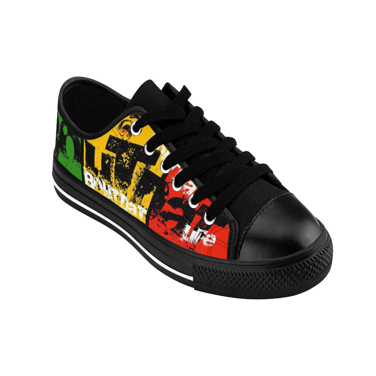 Bout Dat Life Signature Rasta Sneakers For Him