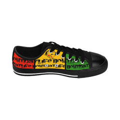 Bout Dat Life Rasta Gear Club Black Rasta Signature Logo Men's Sneakers