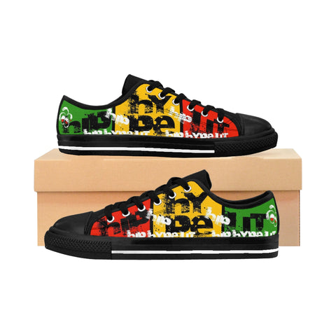 Hip Hype Lit Rasta Sneakers For Her